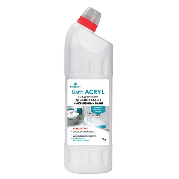 BATH ACRIL средство для чистки акриловых поверхностей 1л