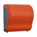 CUO301 Держатель бумажных полотенец в рулонах автомат Maxi Lux Cut UNIQUE ORANGE LINE MATT