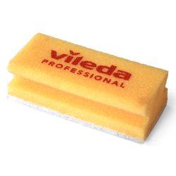 VL47 Губка VILEDA без абразива желтая 7*15