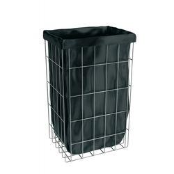B2В Корзина для мусора 47л сетчатая нержавеющая сталь навесная