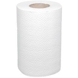 ROB206 Полотенца бумажные в рул 40м белые 2сл 1/12