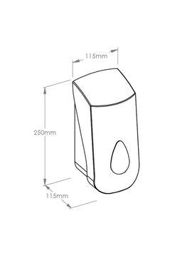 DTS301 Дозатор для крема в картриджах TOP