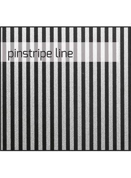 KDP101 Корзина открытая навесная 27 л MERIDA INOX DESIGN PINSTRIPE LINE