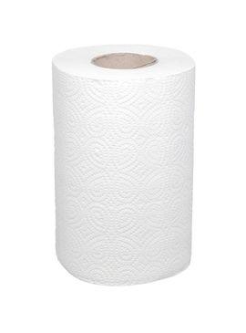 ROB206 Полотенца бумажные в рулоне 40м белые 2сл 1/12